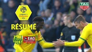 FC Nantes - EA Guingamp ( 5-0 ) - Résumé - (FCN - EAG) / 2018-19