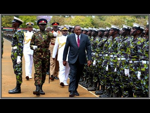 Kenya Defence Forces RECRUIT PASSING OUT PARADE in Eldoret 2018!!!