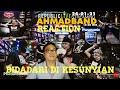 BIDADARI DI KESUNYIAN AHMAD BAND Kalong Show Reaction