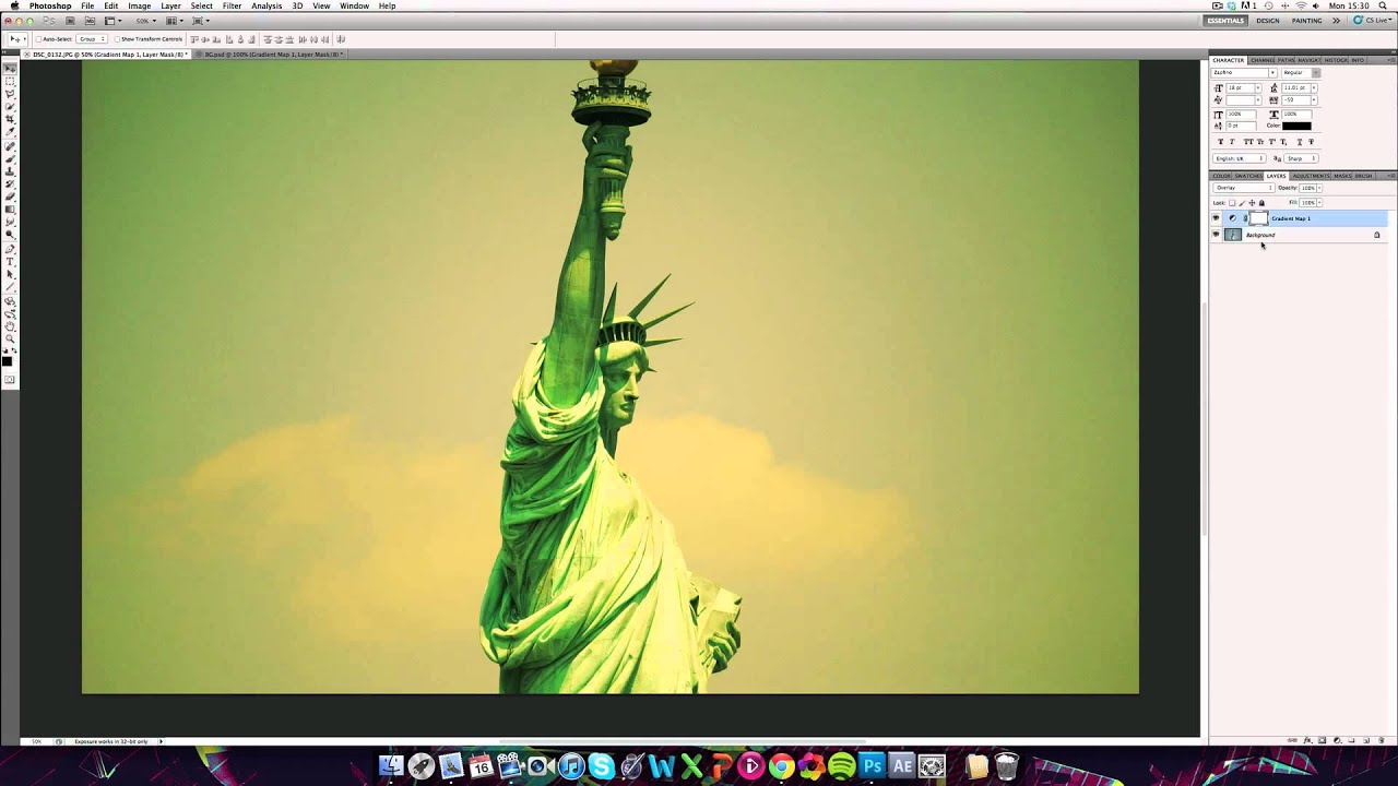 Colour correction | Photoshop Tutorial - YouTube