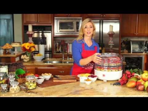 Ronco 5 Tray Food Dehydrator Demo Youtube