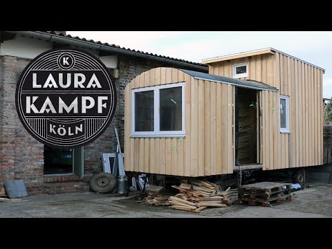 How I built my Tiny House - Ep.6 Ventilated Wooden Facade