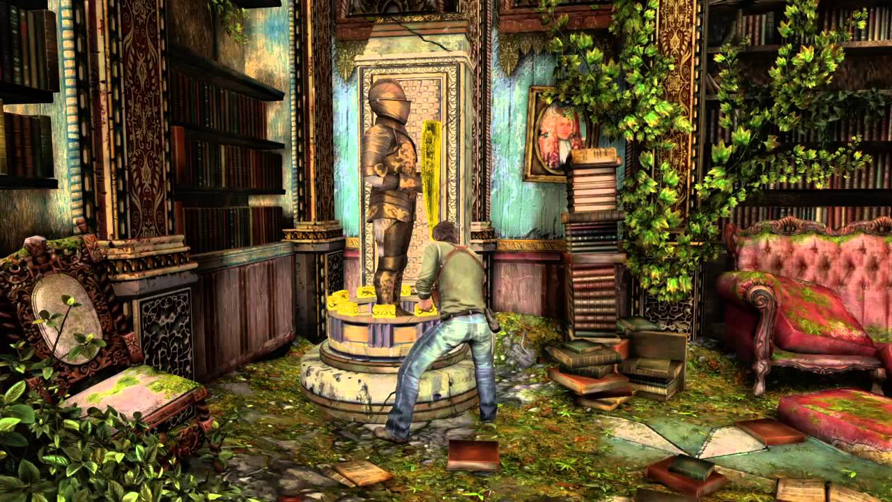 Uncharted 3 Armor puzzle - YouTube