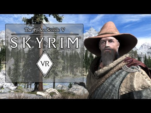 Skyrim VR - HTC Vive PC Gameplay (Modded Combat!)