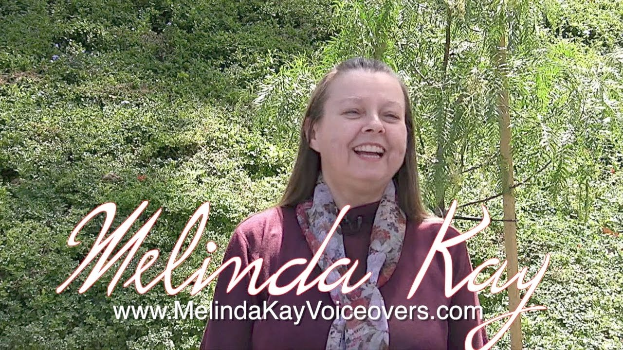Melinda Kay Voiceovers Branding Video