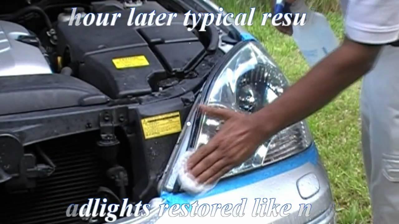 Lexus Hazy Cloudy Headlights Clean Amp Restore Headlight