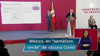 El titular de la SRE, Marcelo Ebrard, informó que hoy se formalizará el pedido de estas dosis para México por medio de Arturo Herrera, secretario de Hacienda