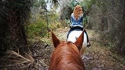 HORSEBACK RIDING IN FLORIDA!