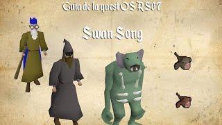 OSRS07 | Guia de Quest en Español | Swan Song - VictorRs07