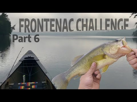 Solo Camping And Bass Fishing On Birch Lake [Frontenac Challenge July 2019]