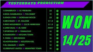 TODAYS FOOTBALL PREDICTIONS 27/10/2021|FOOTBALL PREDICTIONS TODAY|SOCCER PREDICTION TODAY screenshot 2