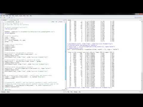 Survival Analysis in R