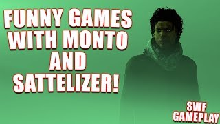FUNNY GAMES WITH MONTO AND SATTELIZER! SWF Gameplay - Dead By Daylight