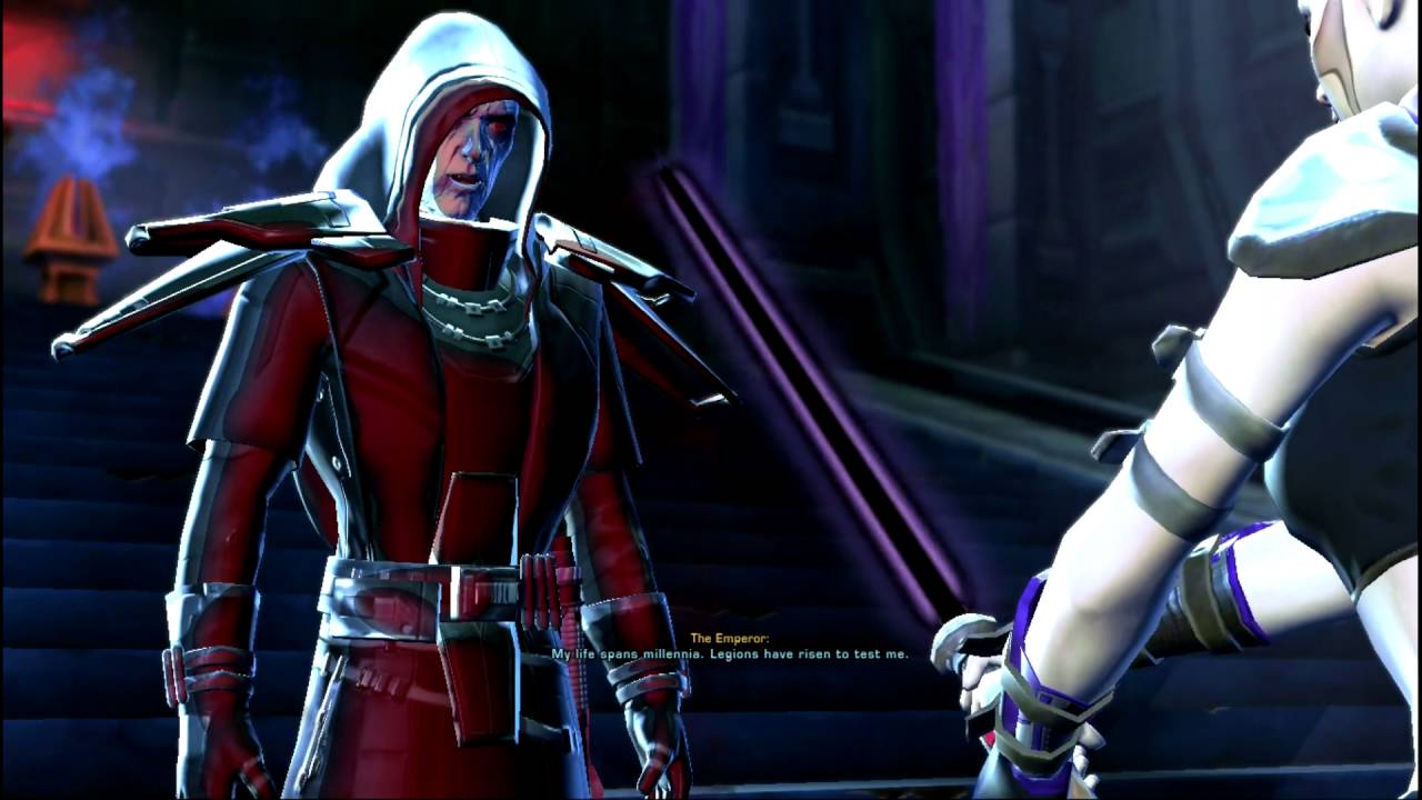 Swtor Jedi Knight Ending Gray Side Youtube
