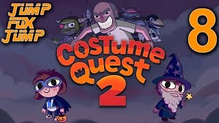 Costume Quest 2 100% Playthrough - The Evil Tooth Academy - PART 8