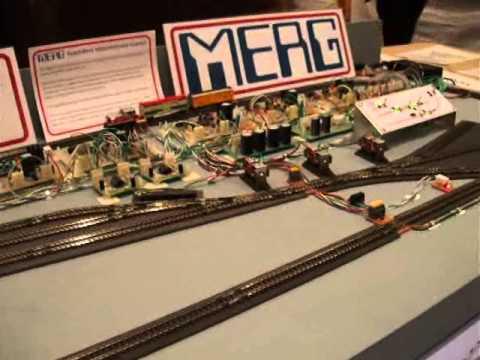 MERG (Model Electronic Railway Group) at Aberdeen MRC Exhibition 2010