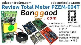 Review PZEM-004T with Arduino ESP32 ESP8266 Python & Raspberry Pi  : PDAControl