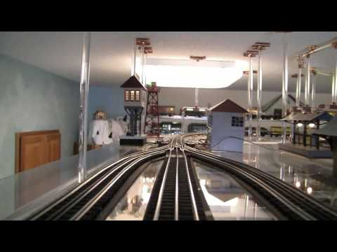 O Gauge Ceiling Mount Train Tour