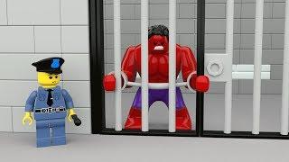 Video Red Hulk Prison Break ❤ Lego In Real Life ❤ Spiderman Hulk Stop Motion Funny Stories download MP3, 3GP, MP4, WEBM, AVI, FLV November 2017