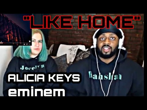 Eminem ft Alicia Keys-Like Home** REACTION**  THEY TOOK IT HOME