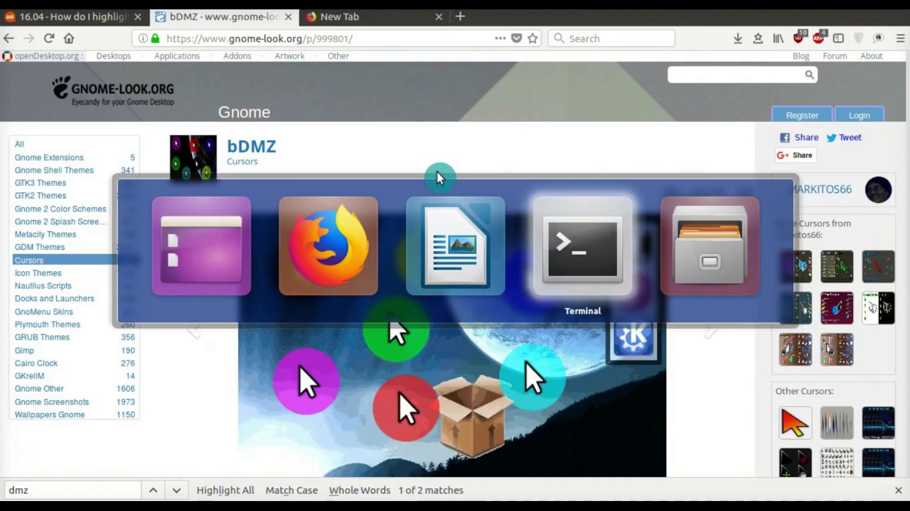 How To Customize Your Mouse Cursor In Ubuntu Linux