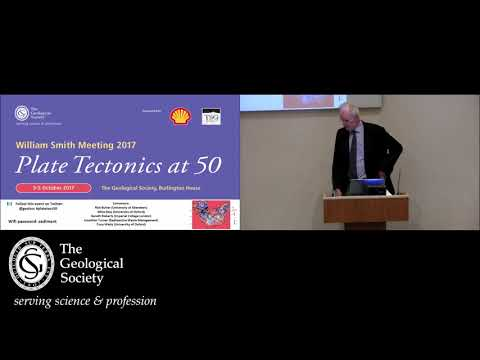 Plate Tectonics at 50  (William Smith Meeting, October 2017) - the William Smith lecture.