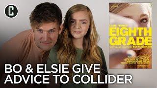 Eighth Grade's Bo Burnham & Elsie Fisher Give the Collider Team Advice