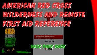 American Wilderness And Remote First Aid Emergency Reference Guide