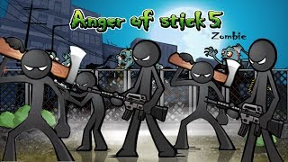 Anger of Stick 5 Apk: All Weapons Unlocked # Hacked 2018 - Android GamePlay#11