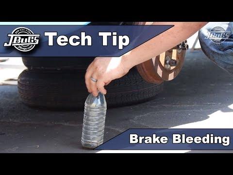 JBugs - Tech Tip - Brake Bleeding
