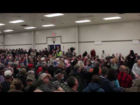 Congressman Tom McClintock Town Hall Meeting in Mariposa on  February 21, 2017 - Part One