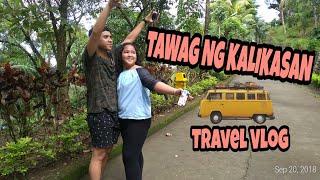 TAWAG NG KALIKASAN |  FIRST TRAVEL VLOG Part 1 (Batangas and Tagaytay)