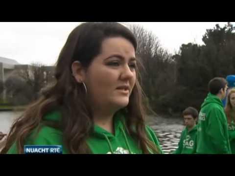 TradSoc agus an Cumann Gaelach ar Nuacht RTÉ - 3ú Feabhra 2014