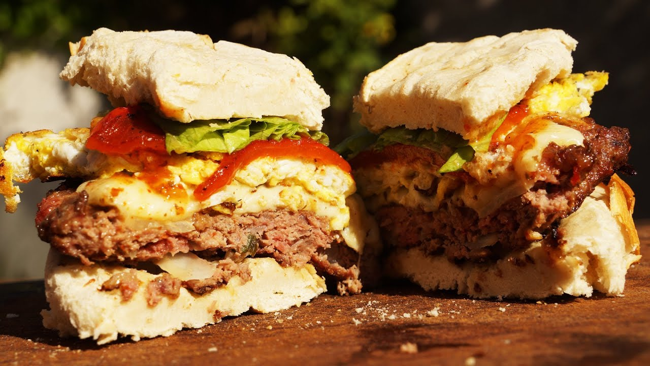 formas de cocinar hamburguesas en parrilla