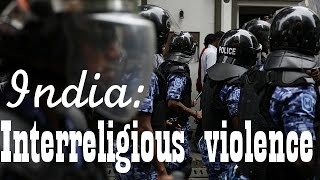 Hindus and muslims clashes in India: 140 arrested