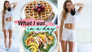 FULL DAY OF EATING! || New goals for 2019 & INTUITIVE TRAINING!