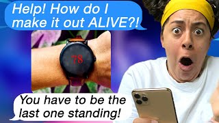 Trapped in A REAL LIFE Battle Royale! (Scary Text Message Story)