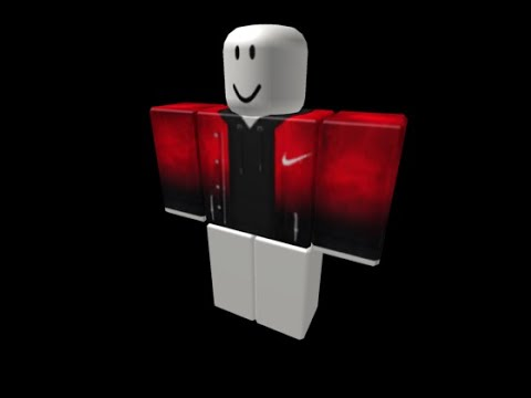 Nike Roblox T Shirt Red How To Get The Red Fade Nike Shirt In Roblox Youtube