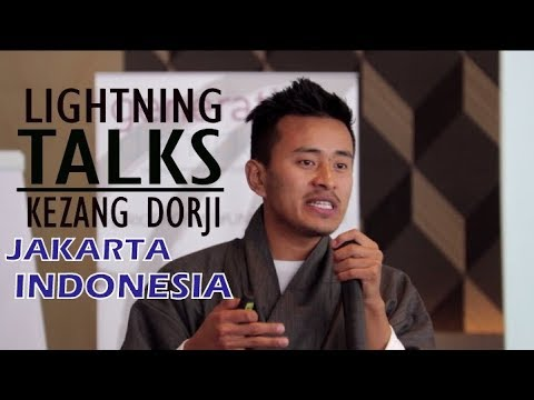 Kezang Dorji Speech at Jakarta, Indonesia (Generation Democracy)