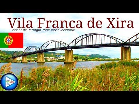 VILA FRANCA DE XIRA com Música Relaxante | VIDEOS DE PORTUGAL