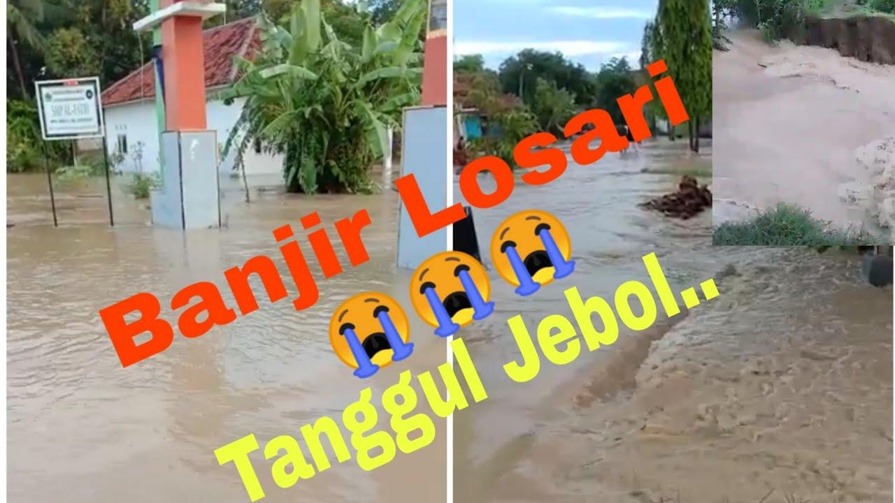 Banjir Di Brebes Daerah Losari 17 februari 2020 - YouTube