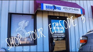 Welcome to the NEW shop! #JustMovedIn (SHOP TOUR EP. 3)