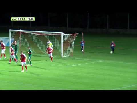 Aluminij - Krka, 0:0 Prva tekma, 3. krog Pokala Slovenije 2017/18