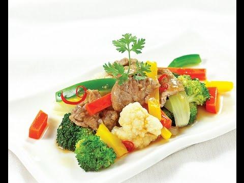 Món ngon ngày tết - Thịt bò xào thập cẩm