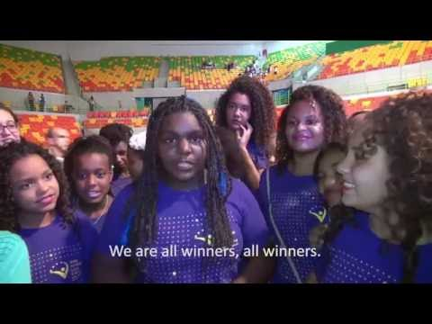 'One Win Leads to Another' – Girls in Rio celebrate launch of Olympic medals with IOC President