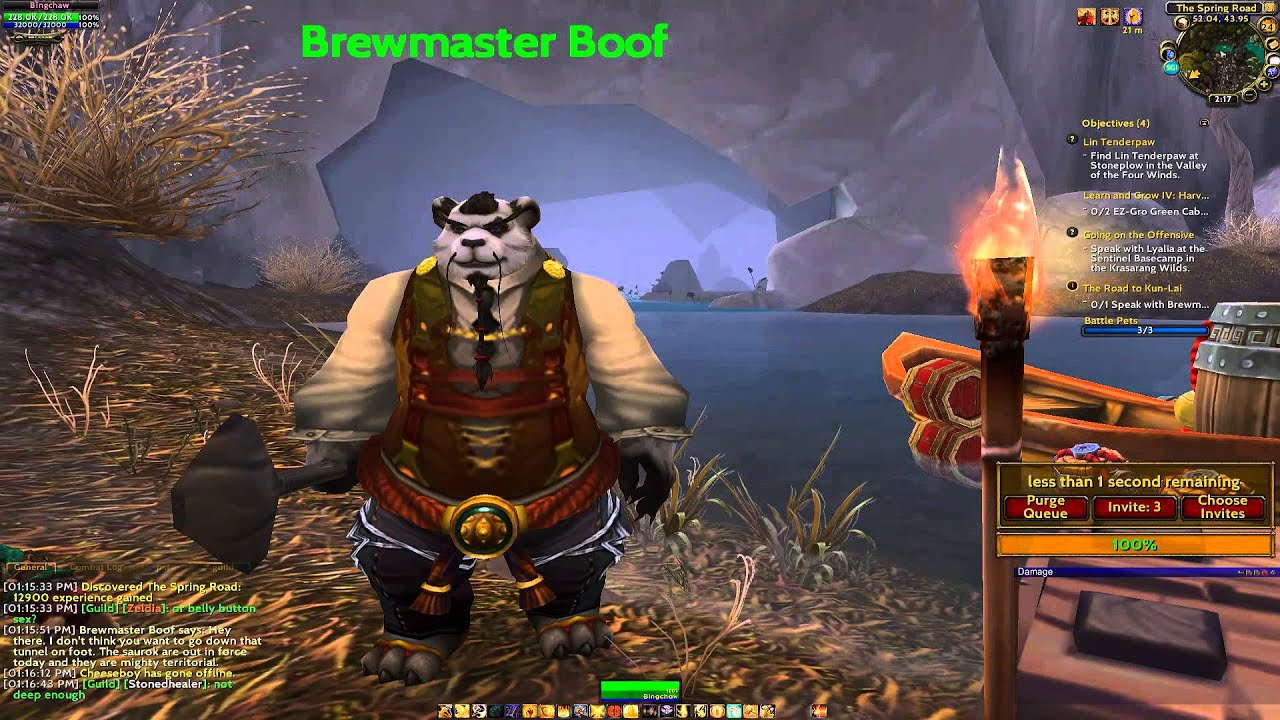 The story of Brewmaster Boof