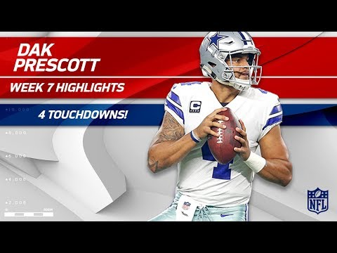 Dak Prescott Dominates San Francisco w/ 4 TDs! | Cowboys vs. 49ers | Wk 7 Player Highlights
