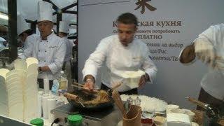 Russian food festival celebrates street cuisine