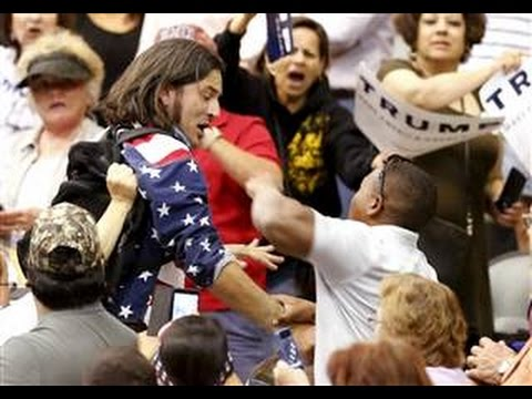 Protester Punched, Kicked at Donald Trump Rally in Arizona