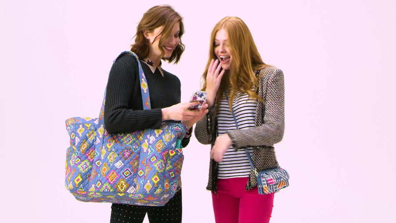 fabd22bfc64e Vera Bradley Get Carried Away Tote - YouTube